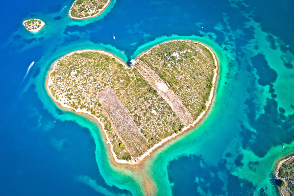 Einzigartige Orte zum Besichtigen in der Region Zadar